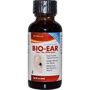 Натурес Ансвер, Alive & Alert, Bio-Ear, 1 fl oz (30 ml) отзывы