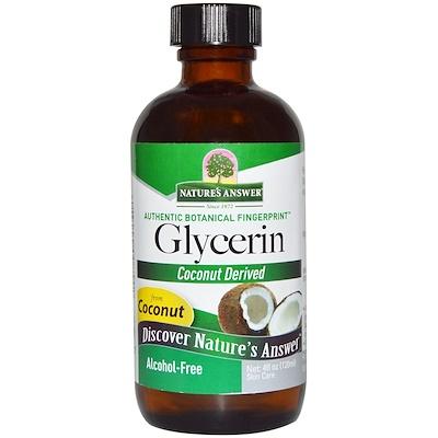 Купить Глицерин, без спирта, 4 жидких унции (120 мл)