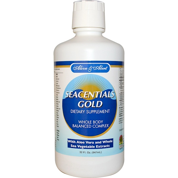 Nature's Answer, Alive and Alert, Seacentials Gold, 32 fl oz (947 ml) (Discontinued Item)