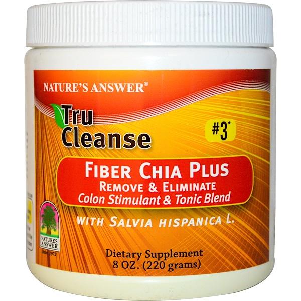 Nature's Answer, Tru Cleanse, клетчатка чай плюс 8 унции (220 г) (Discontinued Item)