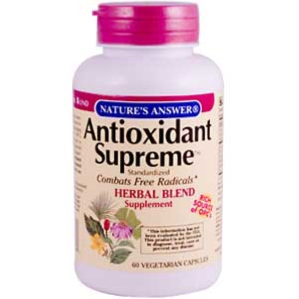 Nature's Answer, Antioxidant Supreme, 60 Veggie Caps (Discontinued Item)