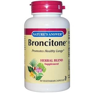 Натурес Ансвер, Broncitone, 90 Vegetarian Capsules отзывы
