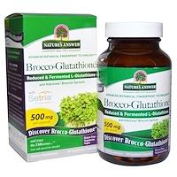 Брокко-глутатион, 500 мг, 60 растительных капсул - фото
