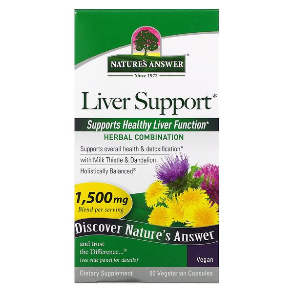 Liver Support, 1,500 mcg, 90 Vegetarian  Capsules