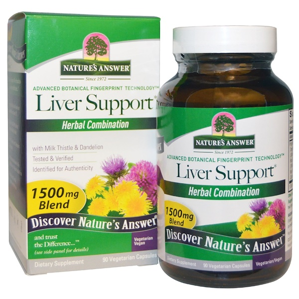 Nature's Answer, Liver Support, 1500 mg, 90 Vegetarian Capsules
