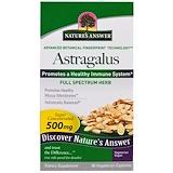 Отзывы о Nature's Answer, Астрагал, 500 мг, 90 растительных капсул