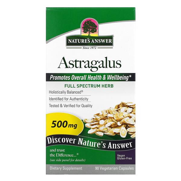 Astragalus, 500 mg, 90 Vegetarian Capsules