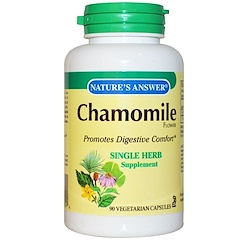 Nature's Answer, Chamomile, 650 mg, 90 Veggie Caps