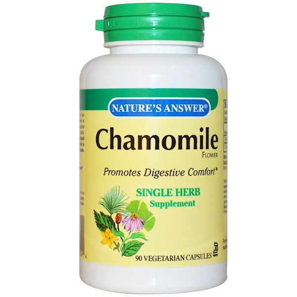 Nature's Answer, Chamomile, 650 mg, 90 Vegetarian Capsules