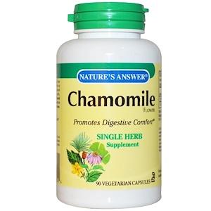 Натурес Ансвер, Chamomile, 650 mg, 90 Vegetarian Capsules отзывы покупателей