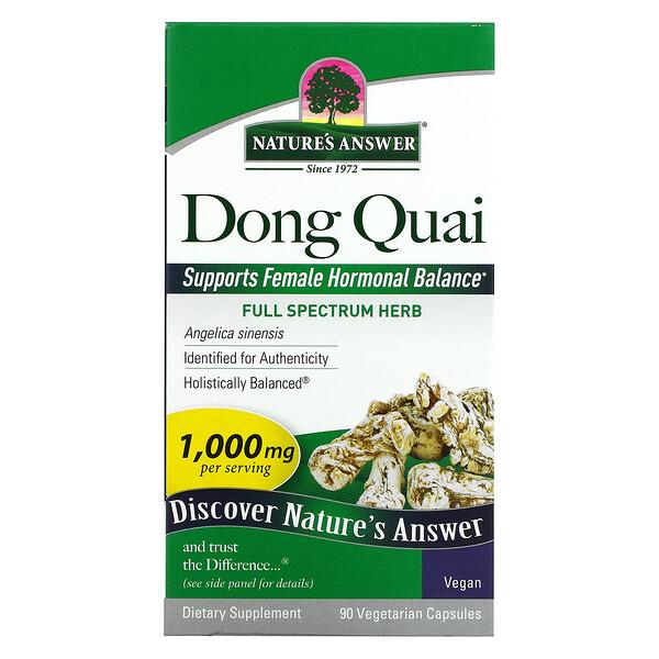 Nature's Answer, Dong Quai, 500 mg, 90 Vegetarian Capsules