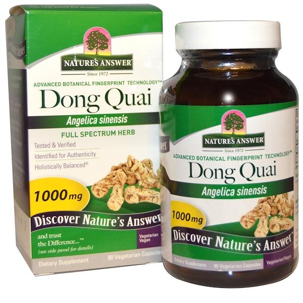Nature's Answer, 當歸,1000 mg, 90 粒植物膠囊