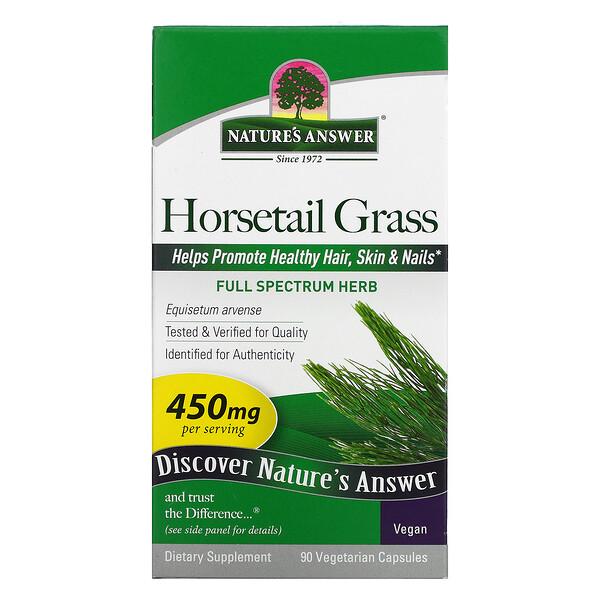 Horsetail Grass, 450 mg, 90 Vegetarian Capsules