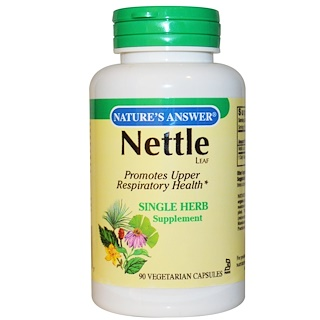 Nature's Answer, Nettle , 900 mg, 90 Vegetarian Capsules