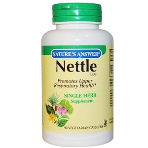 Натурес Ансвер, Nettle , 900 mg, 90 Vegetarian Capsules отзывы