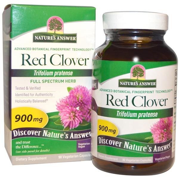Red Clover, 900 mg, 90 Vegetarian Capsules
