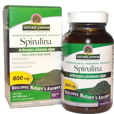 Купить Спирулина, 90 капсул в растительной оболочке