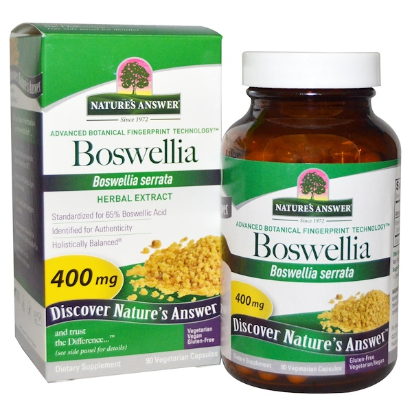 Nature's Answer, Boswellia, 400 mg, 90 Vegetarian Capsules