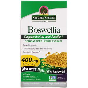 Натурес Ансвер, Boswellia, 400 mg, 90 Vegetarian Capsules отзывы покупателей
