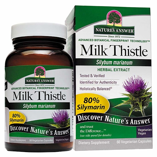 Milk Thistle, Seed Standardized Extract, 60 Vegetarian Capsules