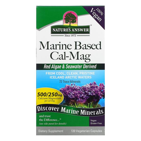 Marine Based Cal-Mag, 120 Vegetarian Capsules