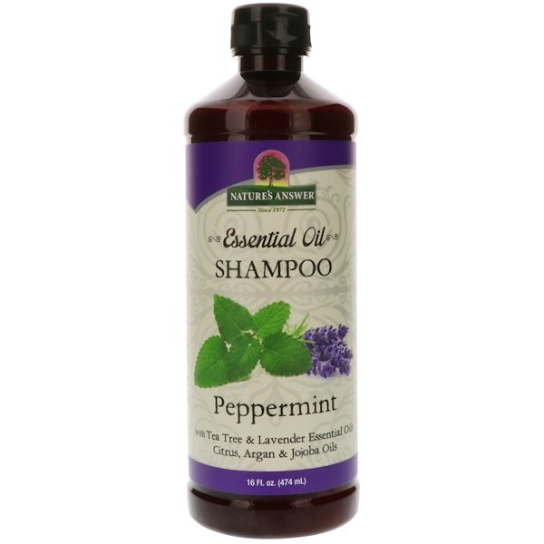 Nature's Answer, Essential Oil, Shampoo, Peppermint, 16 fl oz (474 ml)