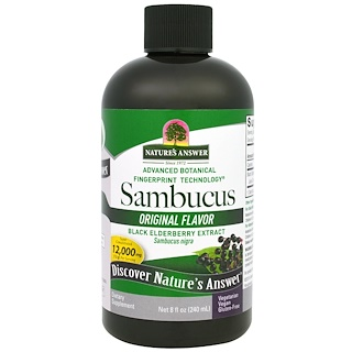Nature's Answer, Sabugueiro Autêntico, 12,000 mg, 8 fl oz (240 ml)
