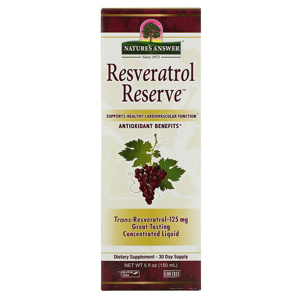 Nature's Answer, Resveratrol Reserve, 5 fl oz (150 ml)