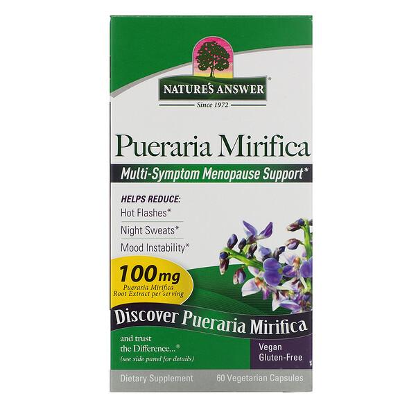 Pueraria Mirifica, 100 mg, 60 Vegetarian Capsules