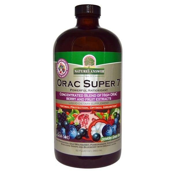 Nature's Answer, ORAC Super 7, мощный антиоксидант, 32 жидкие унции (960 мл) (Discontinued Item)