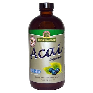 Nature's Answer, Asaí Supremo, 16 oz líquidas (480 ml)