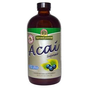 Натурес Ансвер, Acai Supreme, 16 fl oz (480 ml) отзывы покупателей