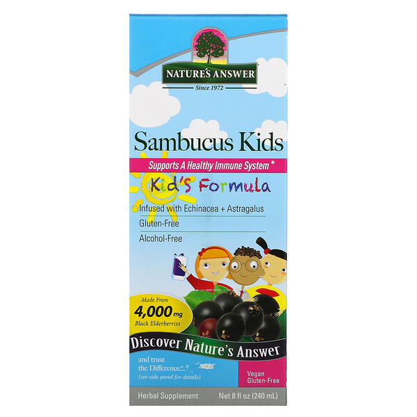 Sambucus Kid's Formula, 4.000 mg, 240 ml (8 fl oz)