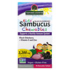 Nature's Answer, Kid's Sambucus Chewables, Black Elderberry + Vitamin-C and Zinc, 45 Chewable Tablets