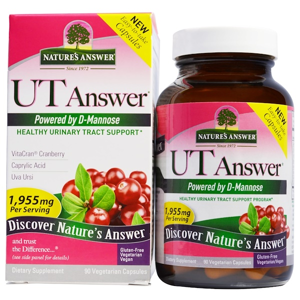 Nature's Answer, UT Answer, 90 Vegetarian Capsules (Discontinued Item)