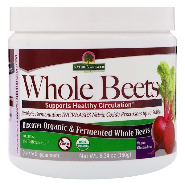 Nature's Answer, Whole Beets, 6.34 oz (180 g)