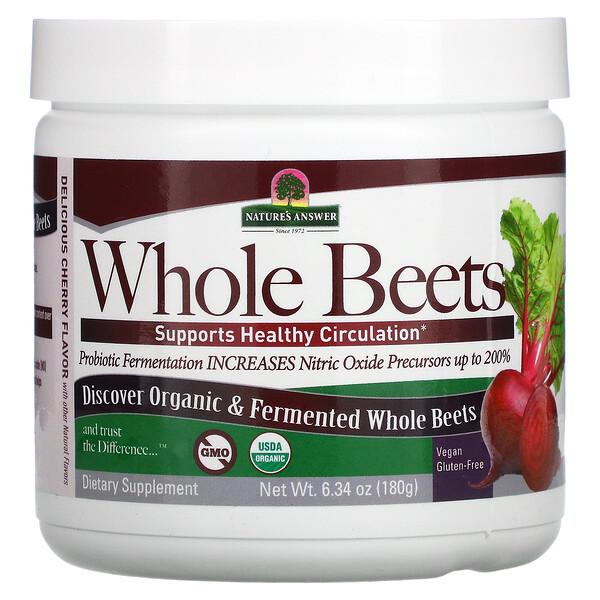 Whole Beets, 6.34 oz (180 g)