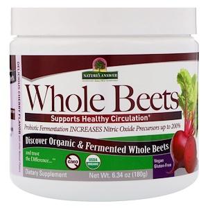 Натурес Ансвер, Whole Beets, 6.34 oz (180 g) отзывы