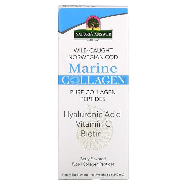 Marine Collagen, Wild Caught Norwegian Cod, Berry Flavored, 8 oz (240 ml)