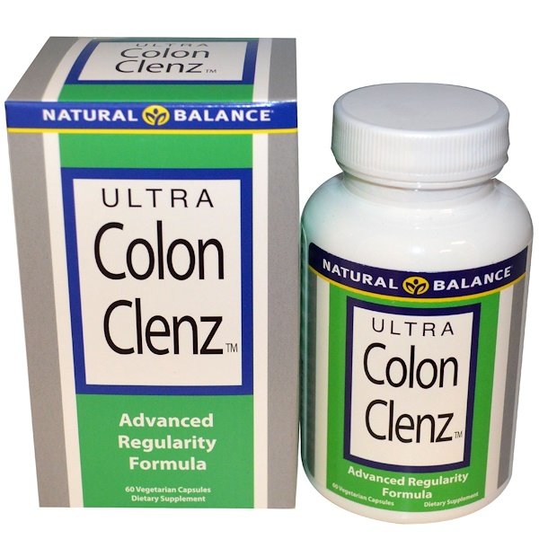 Natural Balance, Ultra Colon Clenz, 60 Vegetarian Capsules