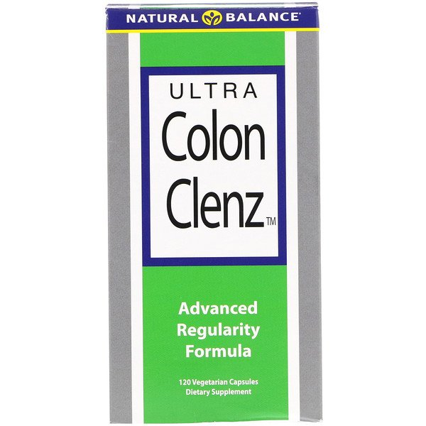 Natural Balance, Ultra Colon Clenz, 120 cápsulas vegetarianas
