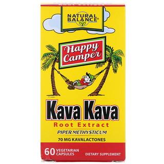 Natural Balance, Kava Kava Root Extract, 60 Vegetarian Capsules