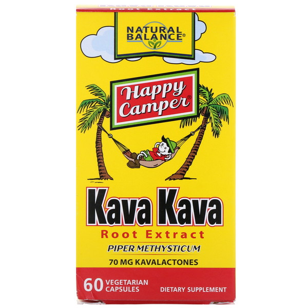 Natural Balance, Kava Kava Root Extract, 60 Vegetarian Capsules (Discontinued Item)