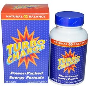Натуре Баланс, Turbo Charge, 60 Tablets отзывы