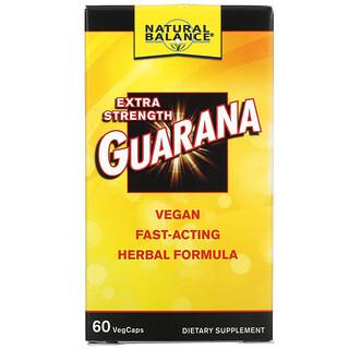 Natural Balance, Extra Strength Guarana, 60 VegCaps
