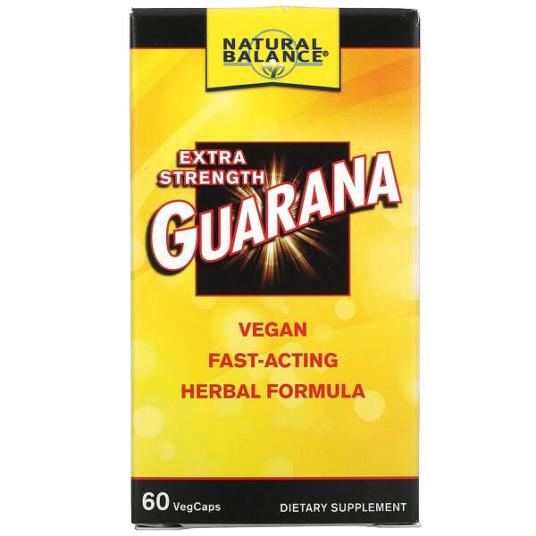 Extra Strength Guarana, 60 VegCaps