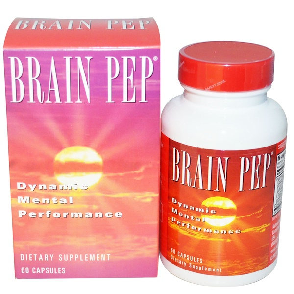 Natural Balance, Brain Pep, 60 Veggie Caps (Discontinued Item)