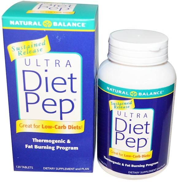 Natural Balance, Ultra Diet Pep, 120 Tablets (Discontinued Item)