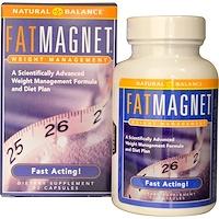 Fat Magnet, управление весом, 72 растительные капсулы - фото
