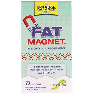 Natural Balance, Fat Magnet, Weight Management, 72 Vegcaps